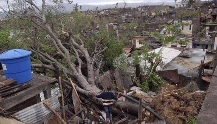 La ayuda humanitaria va destinada a los damnificados del huracán Matthew. Foto: Archivo