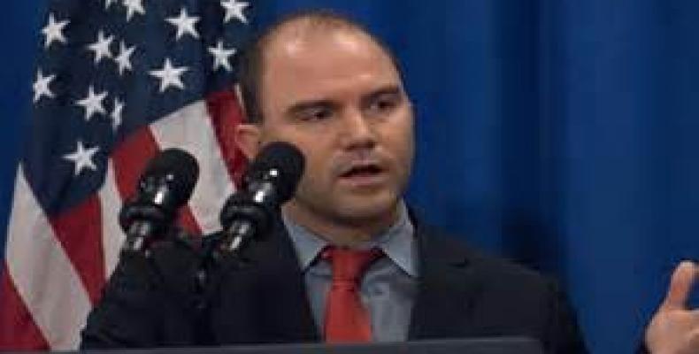 Ben Rhodes, asesor del presidente Obama