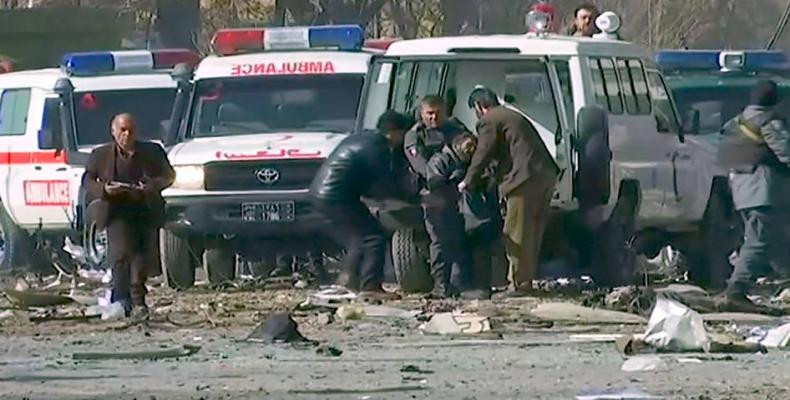 Suicide attack kills more than 100 in Kabul (Photo: AFP)
