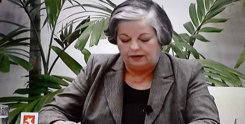Margarita González, ministrino pri laboro kaj socia sekureco
