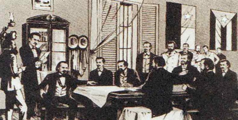 Historia Asembleo de Guáimaro en 1869
