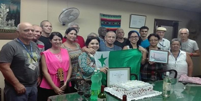 Komuna celebrado de Esperanto-elsendoj