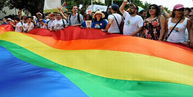 En Cuba, la tradicional conga contra la homofobia será el sábado 13 de mayo. Foto: Archivo