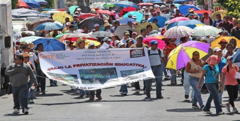 La Coordinadora Nacional de Trabajadores de la Educación tienen planificadas marchas,