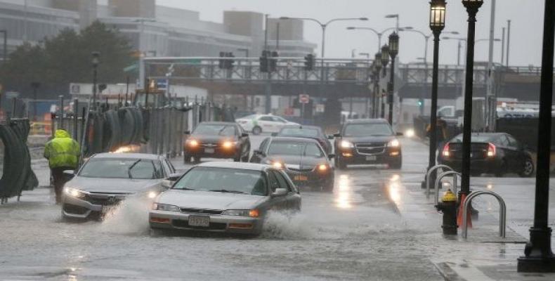 En algunos estados se han registrado inundaciones y caída de nieve. | Foto: EFE