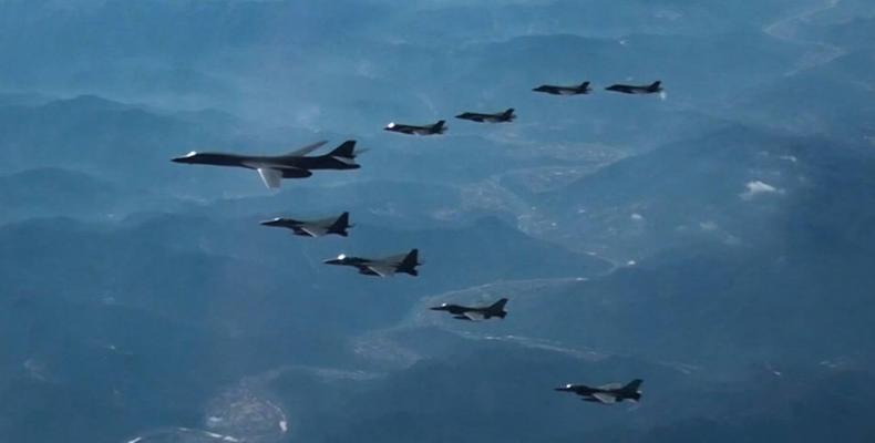 U.S. and South Korean military manuevers canceled.  Photo: AFP