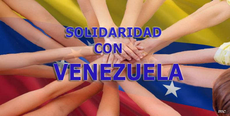 Canadian social movements support the Venezuelan people.    Photo: Cuba Debate