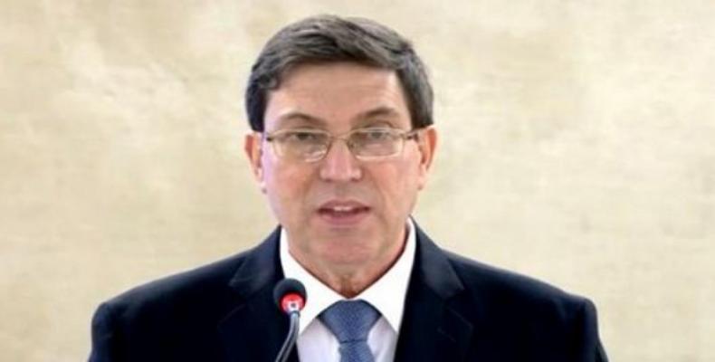 Cuban Foreign Minister Bruno Rodríguez