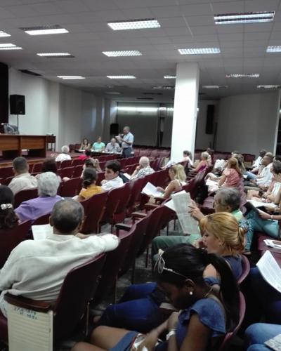 Las voces de los trabajadores de la entidad cuentan. Cada uno de ellos es un constituyente. Fotos: Marianela Samper y Archivo