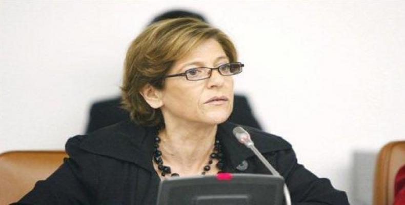 United Nations Special Rapporteur Maria Grazia Giammarinaro
