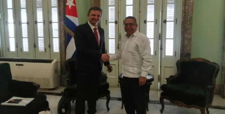 Grupo parlamentario de Francia cumple amplia agenda en Cuba. Foto: PL.