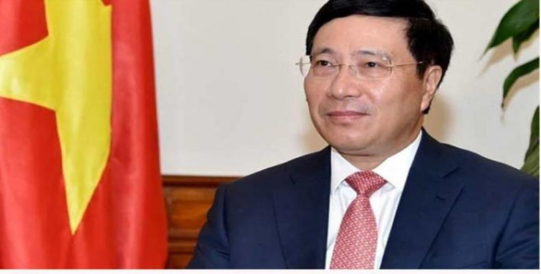 Vietnamese deputy Prime Minister and Foreign Minister Pham Binh Minh.