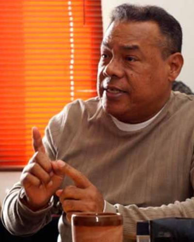 O dirigente sindical Franklin Rondón