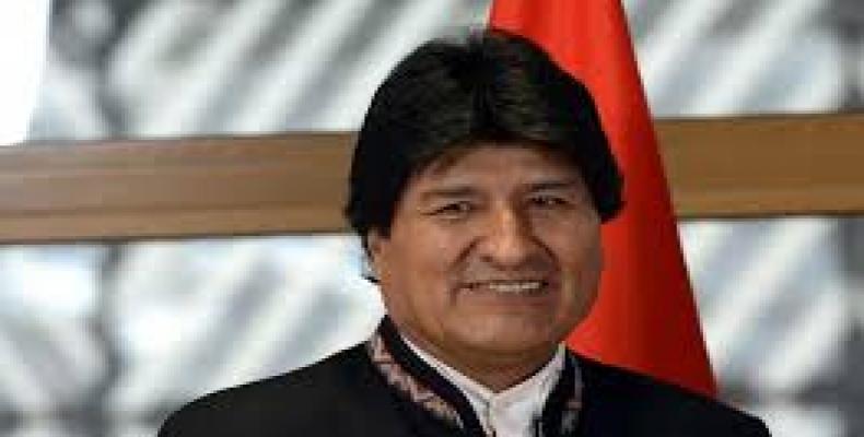Bolivian President Evo Morales.  Photo: Google
