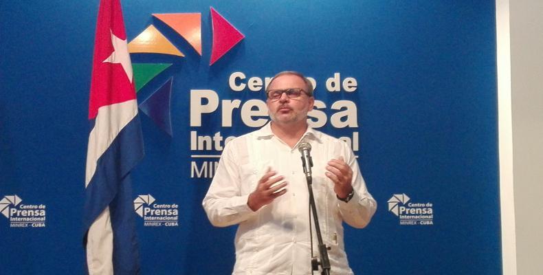 Eugenio Martínez Enriquez, General Director of Latin America and Caribbean at MINREX.  Photo: Jessica Arroyo/RHC