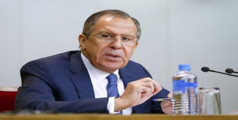 Serguei Lavrov.  Foto: Reuters