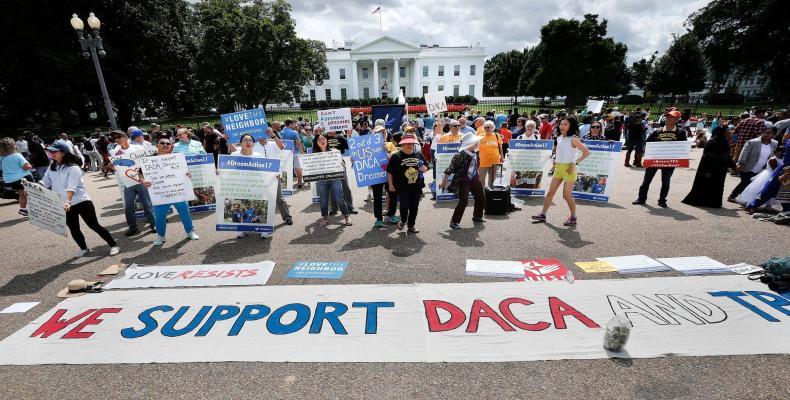 El programa DACA expira en  marzo próximo, si el Congreso no se proyecta a su favor. Foto: Archivo
