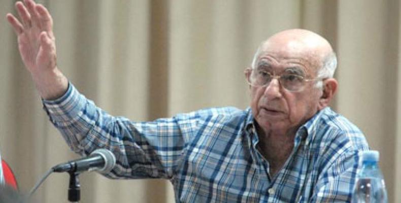 José Ramón Machado Ventura, segundo secretario del Comité Central del Partido Comunista de Cuba