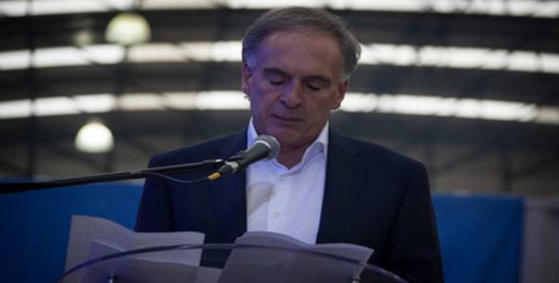 El jefe de la misión de la ONU en Colombia destacó la necesidad de la reincorporación de los exguerrilleros a la sociedad.Foto:PL.