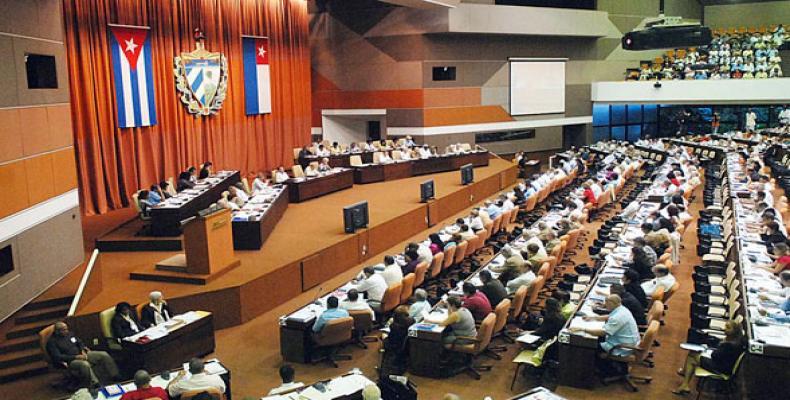 Cuban Parliament. File photo