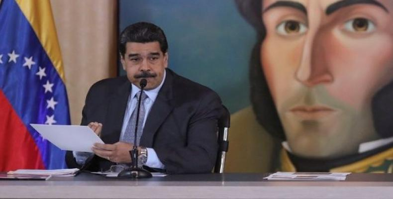President Nicolas Maduro at a news conference in Caracas. (Photo: Reuters)