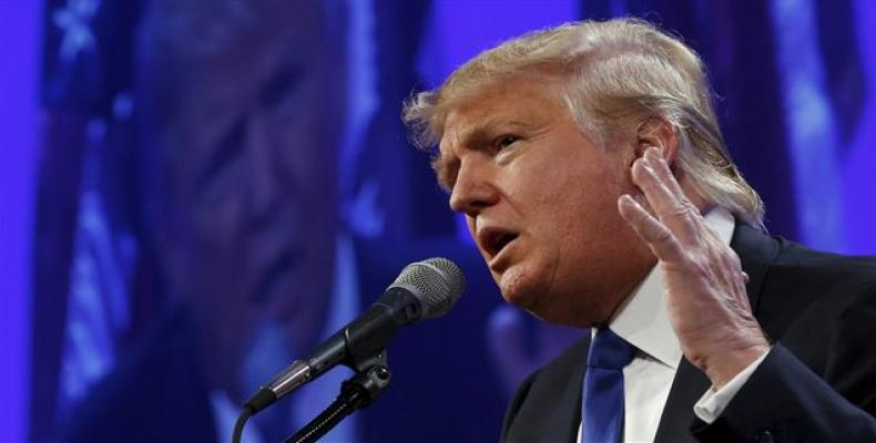 """En enero, el Comité Nacional del Partido Republicano hizo constar su apoyo """"unánime"""" a Trump. Fotos: Internet"""