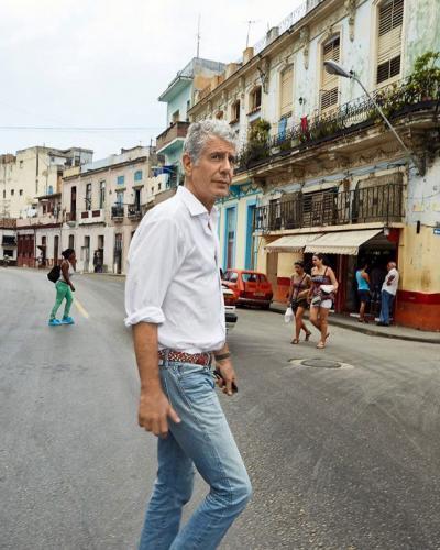 Anthony Bourdain à La Havane. Photo: CNN