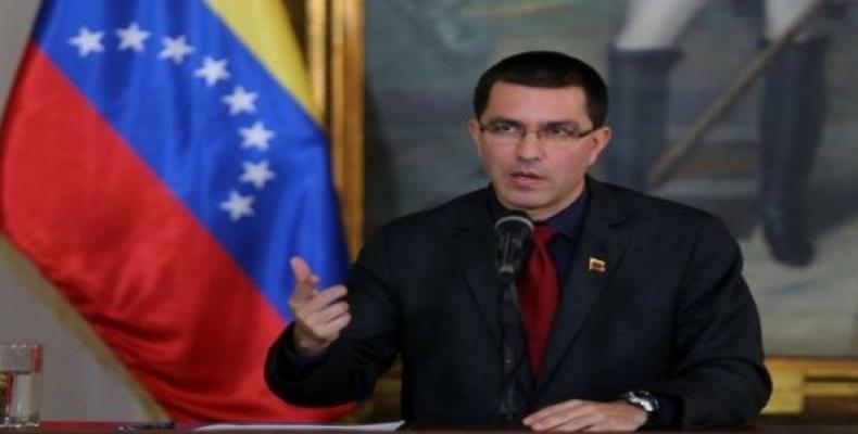 Arreaza exposes diplomatic plans against Venezuela.  Photo: teleSUR