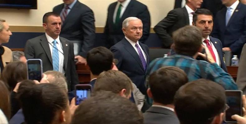 U.S. attorney general Jeff Session.  Photo: File