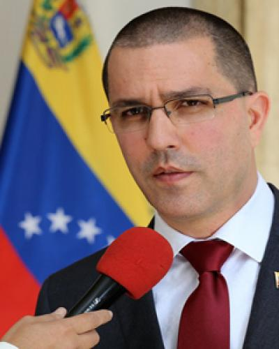 Venezuela's Foreign Minister, Jorge Arreaza.  File photo