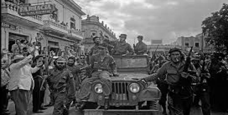 Defying the expectations of most Marxist theorists of the time, the Cuban guerrilla army marched to victory and forced the flight of the dictator on January 1,