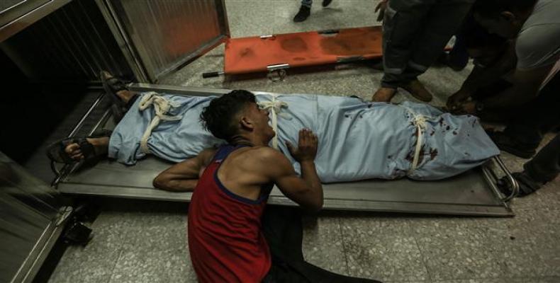 Israeli military kills two Palestinian protesters at Gaza demonstrations.  Photo: Reuters