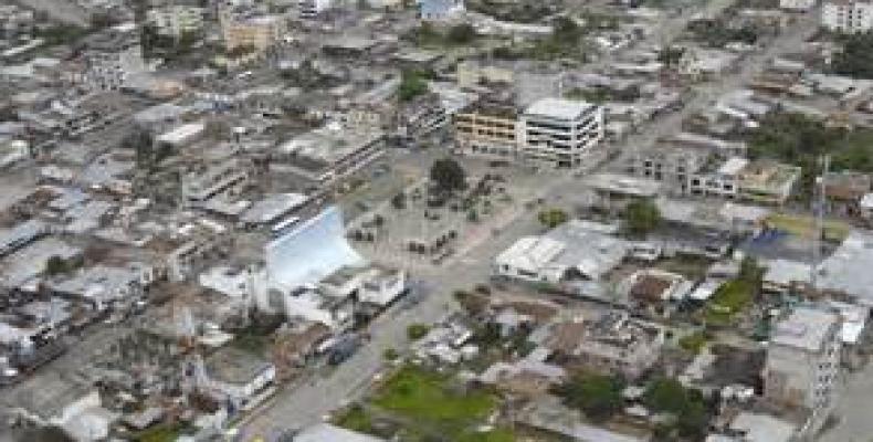 Pedernales après le séisme du 16 avril