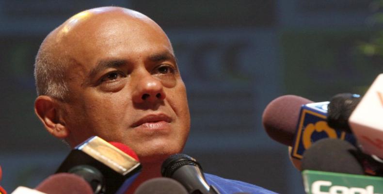Ministro de Comunicación e Información, Jorge Rodríguez
