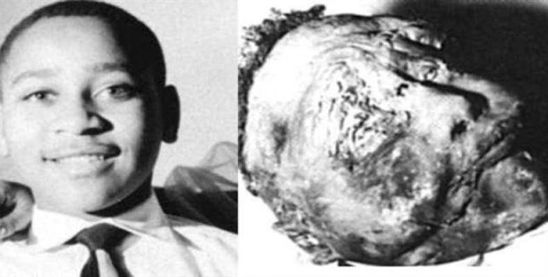 Emmett Till's brutalized body was displayed to show racist violence.  Photo: File