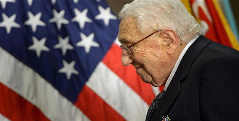 U.S. foreign policy veteran Henry Kissinger