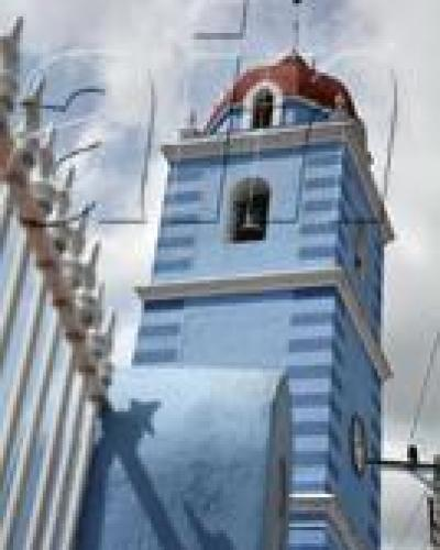 Torres de la Iglesia Parroquial Mayor de Sancti Spíritus. Foto: Oscar Alfonso Sosa