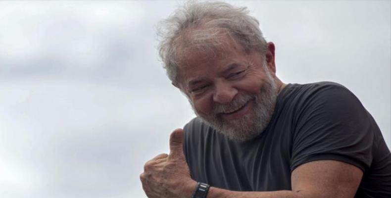 Partido de los Trabajadores de Brasil oficializa candidatura de Lula. Foto:PL.