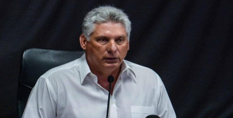 The cultural wealth ofour country is what distinguishes us, says President Miguel Diaz-Canel