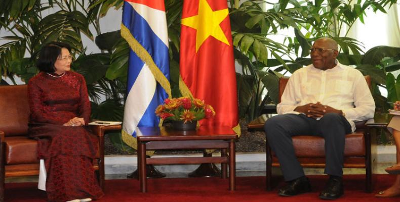 Both vice-presidents reiterated on Monday the willingness of their countries to strengthen bilateral economic and commercial ties.