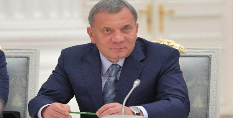 Yuri Borisov, vicunua ministro de Rusio