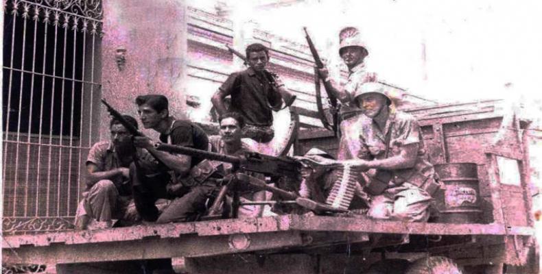Levantamiento del 5 de septiembre, en Cienfuegos. Foto: Archivo