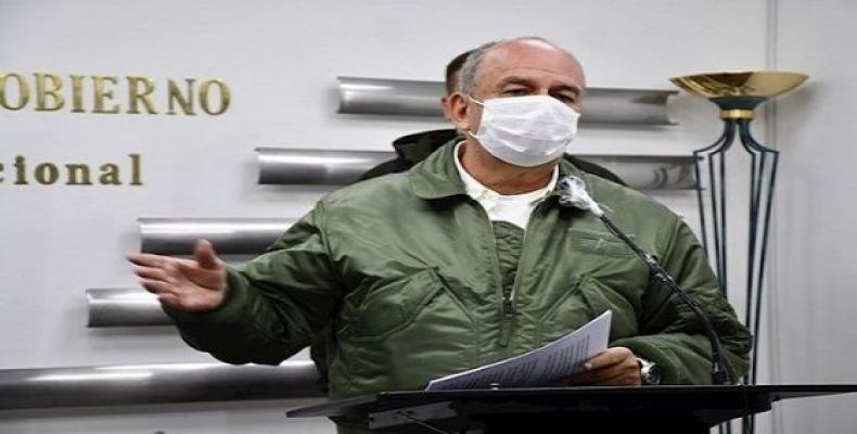 Arturo Murillo, ministro del régimen golpista