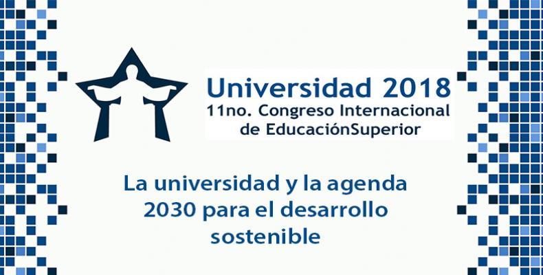 """El evento tendrá como lema """"La universidad y la agenda 2030 para el desarrollo sostenible"""". Foto:ACN"""