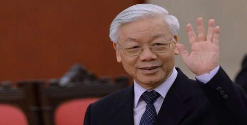 Secretário-geral do PC vietnamita conclui visita a Cuba.
