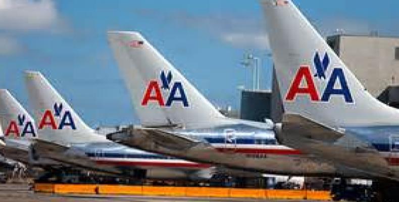 Amrican Airlines, una de las beneficiadas para vuelos regulares a Cuba