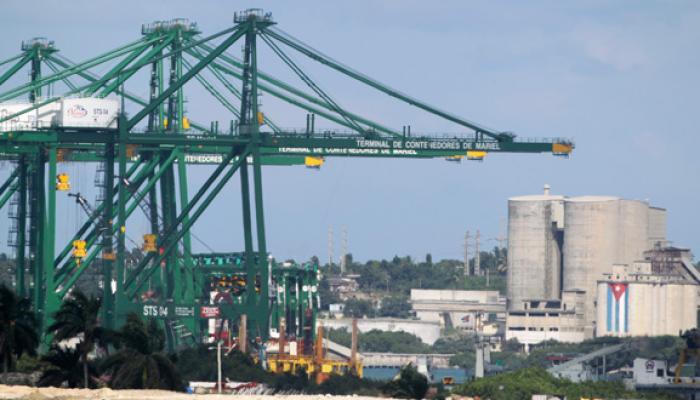 La delegación cubana promoverá  las potencialidades en el sector marítimo-portuario, con el nuevo puerto de aguas profundas en la ZEDM. Foto: Archivo