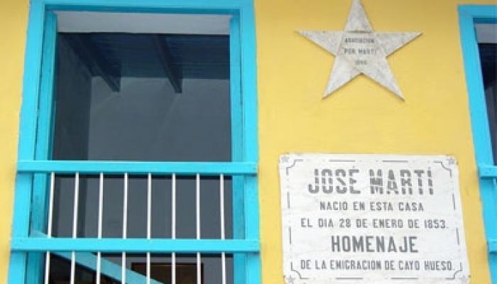 Casa natal de José Martí. Foto: Archivo