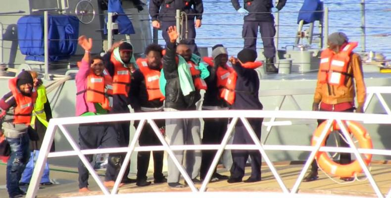 After weeks stranded at sea, asylum seekers granted access to Malta.  Photo: Press TV