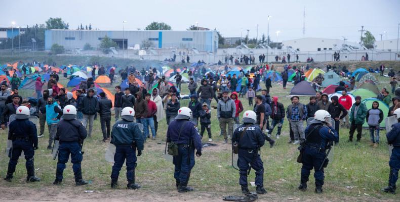 Europe faces massive inflow of refugees.  (Photo: Global Look Press / Nicolas Economou)